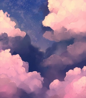aesthetics, clouds and pink