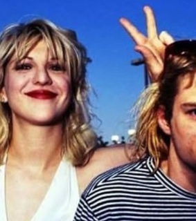 Courtney Love, band and couple