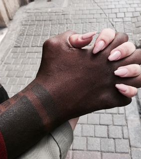 claws goal, holding hands and ineterracial love