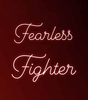 fighter, fearless and word of the day