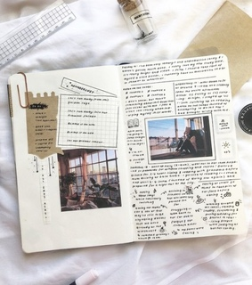 journal ideas, goals and cute