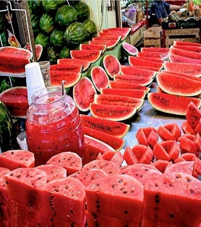 summer, watermelon and summer time