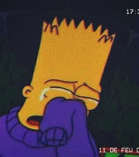 tristeza, fox and bart simpson