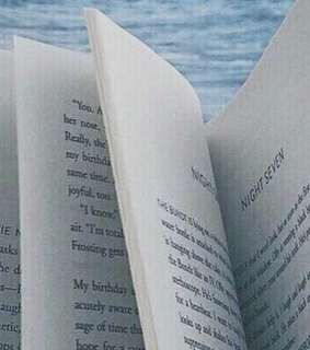 aesthetic, blue and header