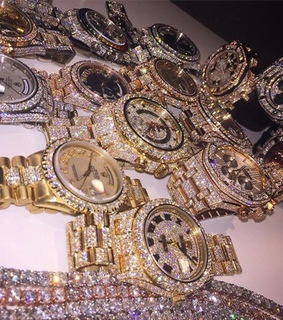 bling, diamonds and ice