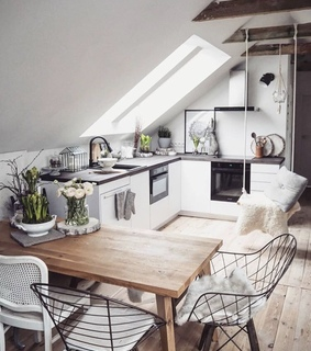 aesthetic, cozy and dinning room