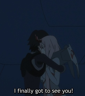 anime, asian and darling in the franxx