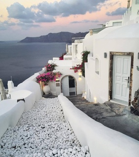 Greece, beautiful view and food