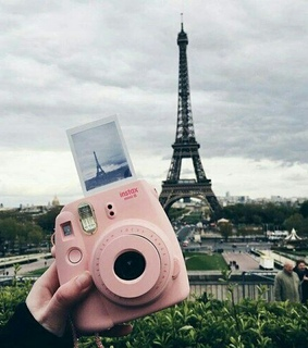 foto, paris and polaroid