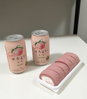 soft pink, japan food and peachy