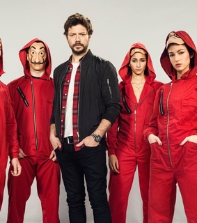denver, la casa de papel and el profesor
