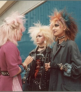 80s, girls and punk