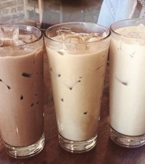 refreshing, ice coffee and coffee
