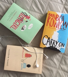 carry on, rainbow rowell and libros