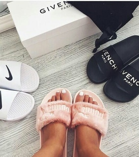 nike, mules and Givenchy