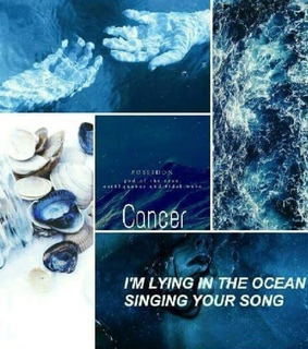 zodiac sign, aesthetic and blue