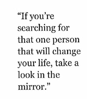 life, mirror and person