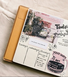 art, bullet journal and creative