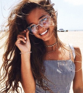 beautiful, girl and summer