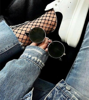 fashion, jeans and modern