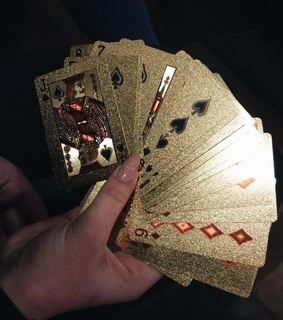 cards, expensive and glitter