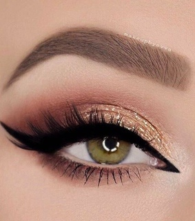 eyes, makeup and eyeliner