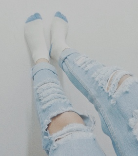 baby blue, blue denim and blue jeans