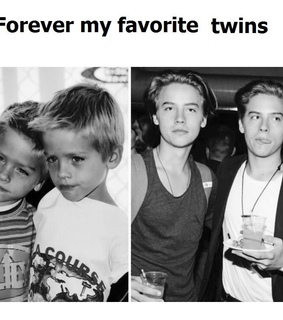 sprouse, twins and cole sprouse