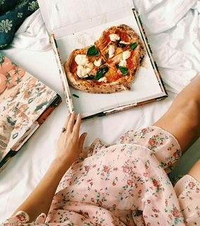 pizza enjoy, love and weekend