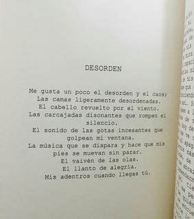 frase, poema and español