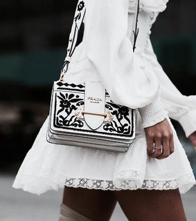 bag, beautiful and black and white