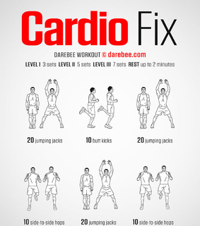 abs, cardio and fitness