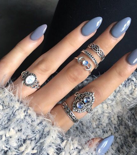 fingers, beauty and blue