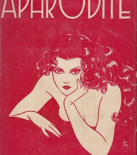 aphrodite, book and book cover
