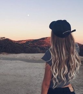 someone, sunsets and wow