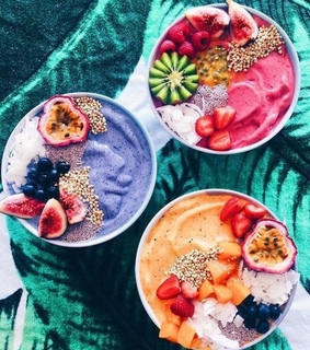 bowls, colors and delicious