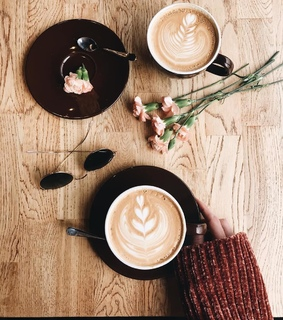 aesthetic, cafe and coffee