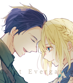 violet evergarden, anime and love