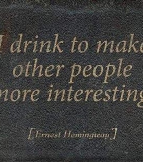 people, quote and alcohol