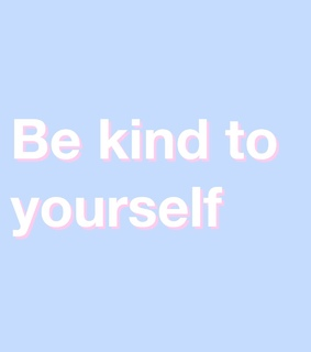apply it, awesome and be kind to yourself