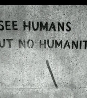 no, humanity and wall