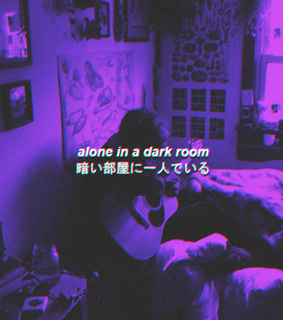 aesthetic, alone and anime