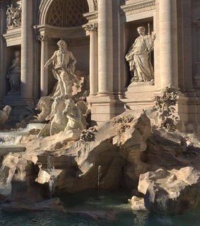 summer, rome and statue