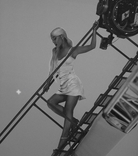 b&w, music video and celebrity