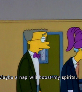 the simpsons, funny and naps