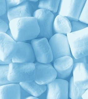 blue, pretty and soft candy