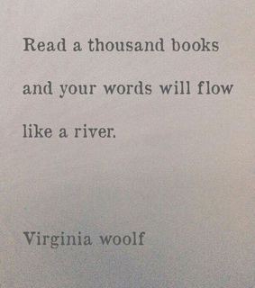 bookish, virginiawoolf and flow