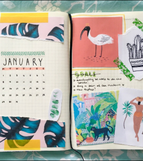 writing, bullet journal and tumblr