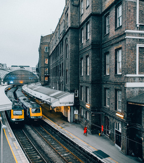 london, urban and street view