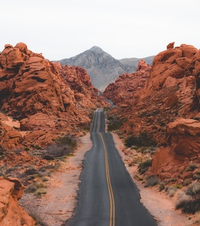 Nevada, Valley of fire and landscape